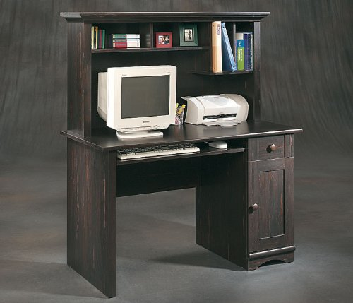 Buy Low Price Comfortable Sauder Computer Desk with Hutch (B000ZSJEF4)