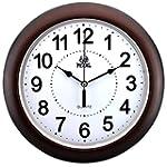 WogKok Wall Clock Modern Non Ticking...