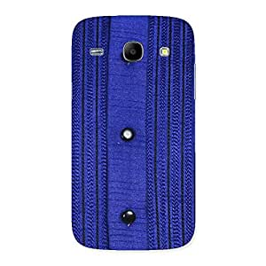 Ajay Enterprises Royal Blue Sweate Print Back Case Cover for Galaxy Core