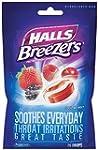 Halls Sugar Free Breezers, Cool Berry...
