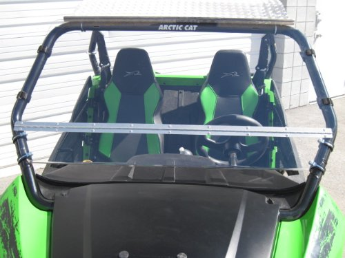 Arctic-Cat-Wildcat-TrailSport-Only-Premium-Double-Sided-Scratch-Resistant-Lexan-Full-Tilt-Windshield-Made-in-America-FREE-SHIPPING-We-need-to-know-what-kind-of-roof-you-have-Read-ad-for-measurement-in