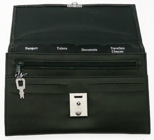 Ladies Soft Green Colour Travel Document Case (Passport, Tickets, Travellers Cheques, Insurance, Money Holder etc)