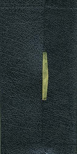 NKJV, Checkbook Bible, Compact, Bonded Leather, Black, Wallet: New King James Classic Companion Slimline Bible (Bible Nkjv)