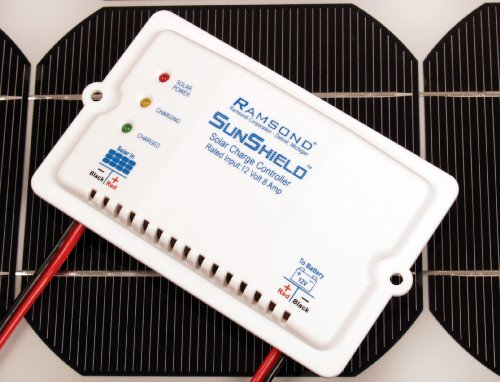 Ramsond SunShield 12V 12 Volt 8A 8 Amp Solar Charge Controller Regulator