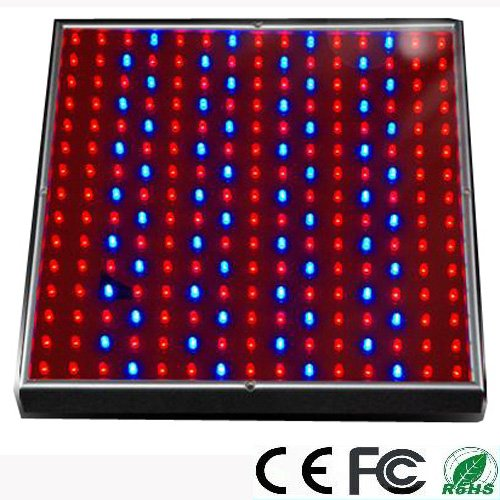 Expower 14W 225 Led Blue + Red Grow Light Panel For Growing Fruits Strawberries, Vegetables Peppers, Lettuce, Cucumbers + Hanging Kit