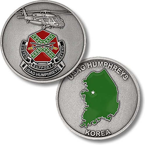 USAG Humphreys, Korea Challenge Coin