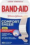 Band-Aid Adhesive Bandages, Sheer, Al...