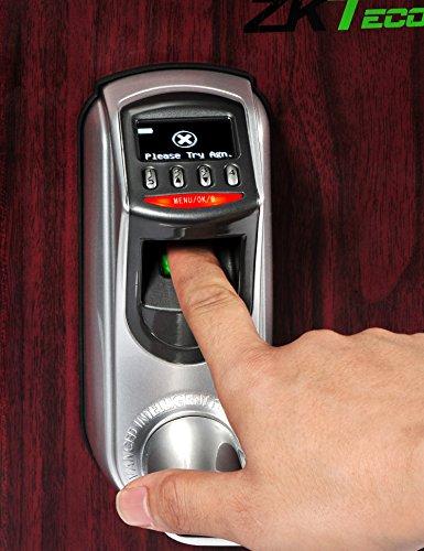 ... ZKTeco L7000 U OLED Display Keyless Biometric Fingerprint  ...