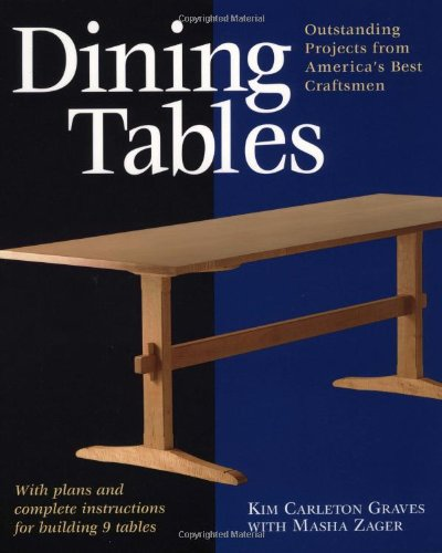 Dining Tables: Outstanding Projects From America'S Best Craftsmen (Furniture Projects) front-810575