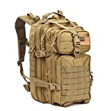 Military Tactical Assault Pack Backpack Army Molle Waterproof Bug Out Bag Backpacks Small Rucksack for Outdoor Hiking Camping Trekking Hunting