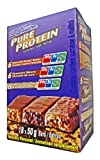 Pure Protein 18bars (6 Choc peanut butter/ 6 Choc Deluxe / 6 Chewy Choc Chip)
