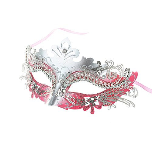 Pretty Elegant Lady Masquerade Halloween Mardi Gras Party Mask