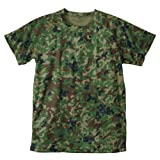 C.A.B.CLOTHING J.S.D.F #6525-01 クールナイス 半袖Tシャツ 2枚組
