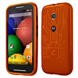 Motorola Moto E Cruzerlite Bugdroid Circuit Case For Motorola Moto E - Orange