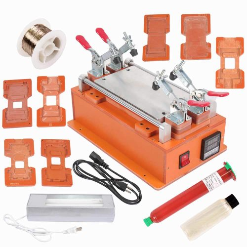 Eteyo Sm-252 Lcd Separator Screen Repair Machine Compatible For Lcd Or Led Screen Assembly With 4 Adjustable Fixed Tools