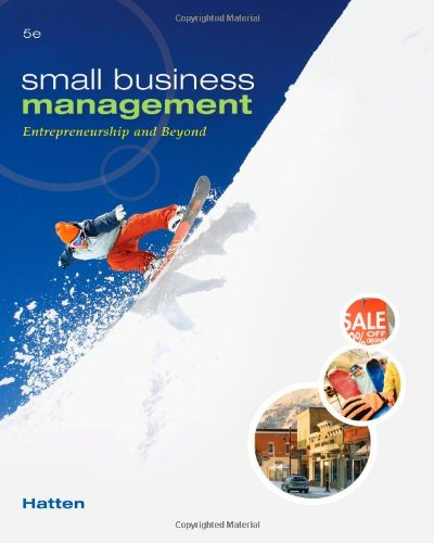 Small Business Management: Entrepreneurship and