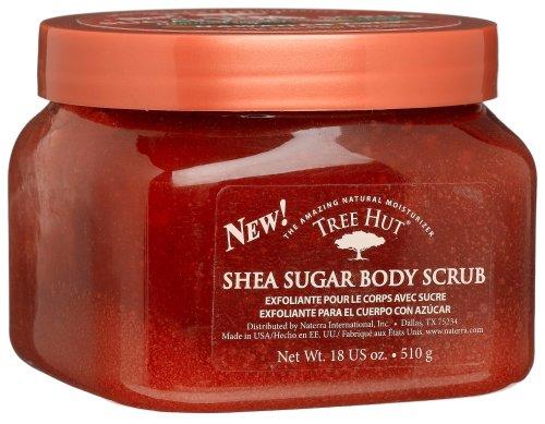 Tree Hut Body Scrub, Hawaiian Kukui, 18 -Ounce Jars (Pack of 3)