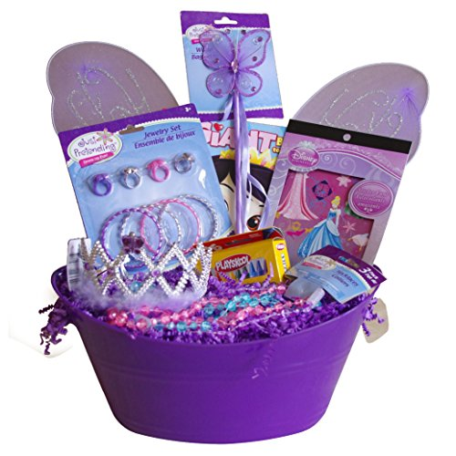 Fairy Princess Costume Dress Up and Activity Set Basket