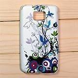 【全10色】Samsung Galaxy S2 / SC-02C / i9100 専用ケース プラスチックケース 花柄 Plastic Case for Galaxy S2 SC-02C (1380-12)