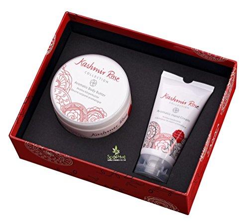 Crema Mani 80ml e Burro per il corpo 250ml Kashmir Rose in una confezione regalo