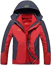 No66 Town Premium Waterproof Windproof Ski Hooded Thick Warm Polar Fleece Twinset Jacket