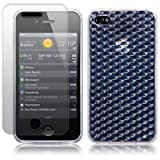 IPHONE 4S / IPHONE 4 CLEAR TPU GEL SKIN CASE / SKIN / COVER + SCREEN PROTECTOR PART OF THE QUBITS ACCESSORIES RANGE