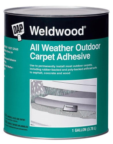 Dap 00442 Weldwood All Weather Outdoor Carpet Adhesive 1