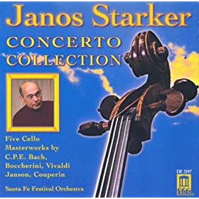 Cello Recital: Starker, Janos - Bach, C.P.E. Boccherini, L. / Vivaldi, A. Janson, J.-B.-A.-J. / Couperin, F. (Concerto Collection)