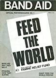 img - for Band Aid Official Postermagazine No. 1: Feed the World book / textbook / text book