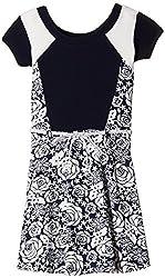 Peppermint Girls' Dress (L-AC-DRS-2152-3803_Blue_30)