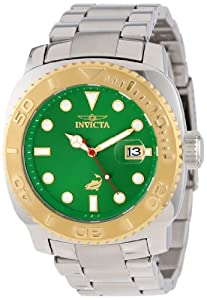Invicta Men's 14484 Pro Diver Automatic Green Dial Stainless Steel Watch