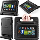 i-Blason ArmorBox Kido Series for All New Kindle Fire HD 7 Inch Tablet [2013 Release / Not Compatible with Kindle Fire HD 7 2012 Release] Light Weight Super Protection Convertiable Stand Cover Case Kids Friendly (Black)