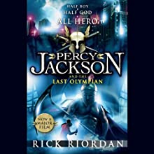 Percy Jackson and the Last Olympian (       UNABRIDGED) by Rick Riordan Narrated by Jesse Bernstein