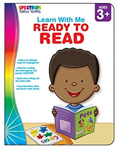 Spectrum Early Years Ready to Read Workbook, Ages 3+