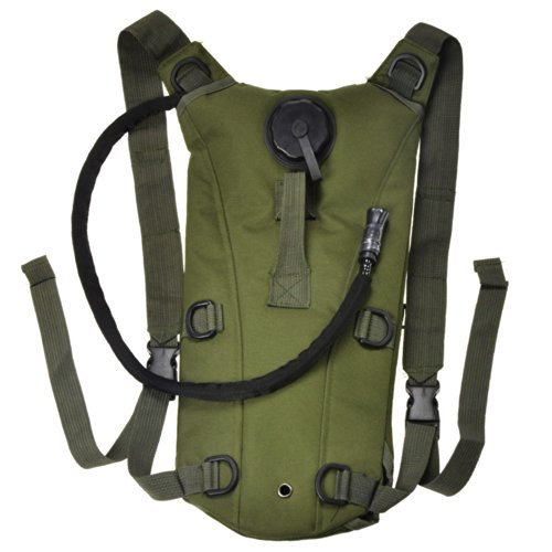 Backpack With Water Pouch