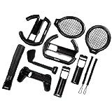 echange, troc 11in1 Kit Ultimate for Nintendo Wii Sports - Zubehörset für Game-Controller - Schwarz