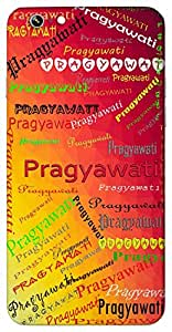 Pragyawati (a wise woman) Name & Sign Printed All over customize & Personalized!! Protective back cover for your Smart Phone : Apple iPhone 5/5S