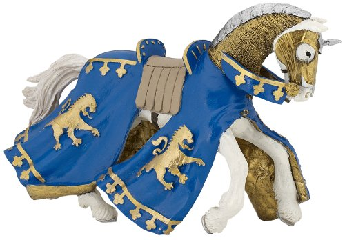 Papo Blue Prince Richard Horse Figure