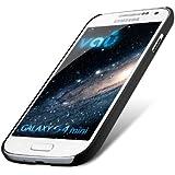 vau SlimShell Case - matte black - Hülle, Tasche für Samsung Galaxy S4 MINI