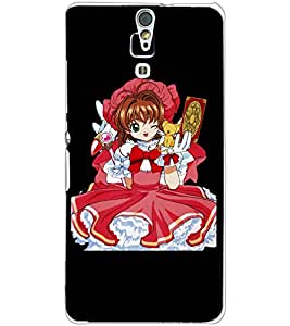SONY XPERIA C5 BABY GIRL Back Cover by PRINTSWAG