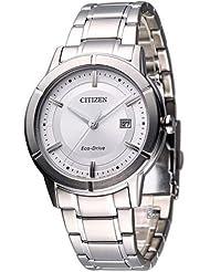 Citizen Eco-Drive Analog White Dial Men's Watch AW1080-51A