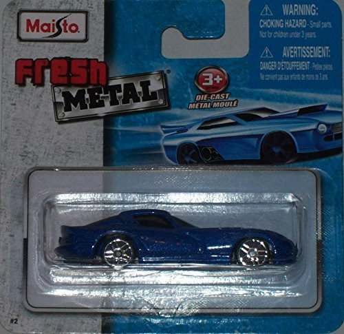 maisto-fresh-metal-die-cast-vehicles-1996-dodge-viper-gts-blue-w-white-stripes