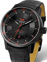 Vostok-Europe Gaz-Limo Black PVD Watch with Trigalight Gas Tube Illumination 5654140