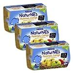 B�b� Nestl� Naturnes Pommes Coings -...