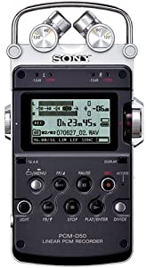 Sony Linear Pcm Recorder PCM-D50 [Japan Import]