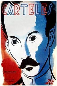 "11""x 14"" Poster. ""Carteles Magazine cover"" JOse Marti portrait poster"