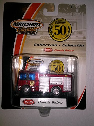 Matchbox Collectibles 50 Years 1998 Dennis Sabre