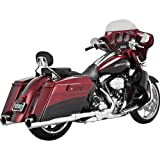 Vance & Hines Power Duals Head Pipes - Chrome , Color: Chrome 16849