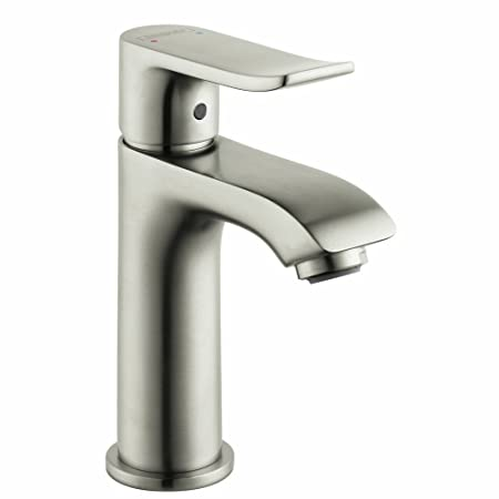 Hansgrohe 31088821 Metris E Single Hole Faucet, Brushed Nickel