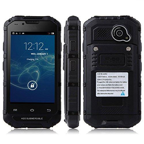 Tengda V6 Smartphone Ip68 Android 4.2 Mtk6572 4.0 Inch Wifi Black
